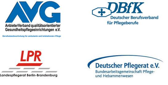 Unterstützer der Berliner Pflegekammer